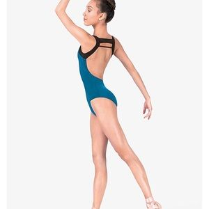 Natalie Leotard-ALL Black-Adult M